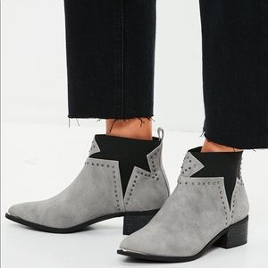Missguided Star Booties 🤩